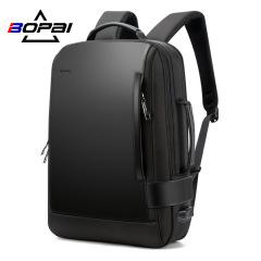 New double shoulder bag waterproof large capacity travel men's backpack USB business computer backpack manufacturer customized brand