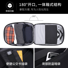New men's multifunctional business security bag computer backpack outdoor travel backpack USB charging man's bag