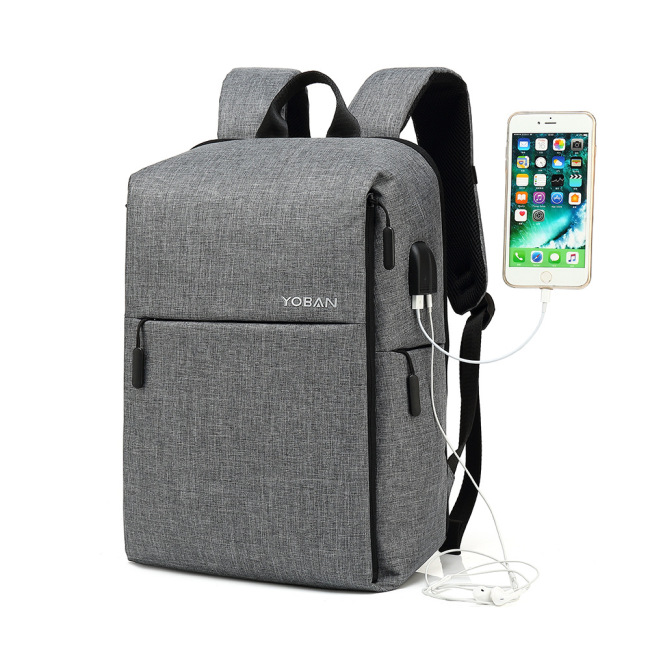 Anti theft backpack smart USB charging backpack waterproof Oxford cloth business computer leisure men's backpack