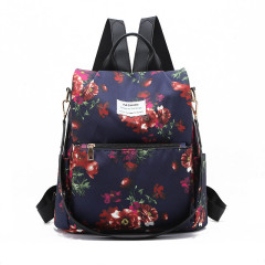 Student schoolbag high capacity anti theft backpack for junior high school students