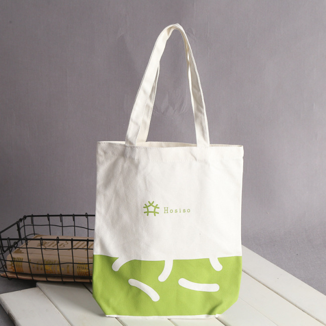 Canvas bag custom logo spot cotton bag advertising shopping blank hand sail bag hand made bag