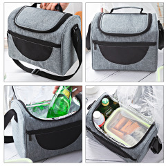Outdoor waterproof insulation bag picnic bag wholesale cross border special for hand-held ice bag lunch bag customized