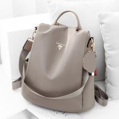 Women's bag 2020 waterproof Oxford backpack women's new leisure backpack student outdoor travel schoolbag