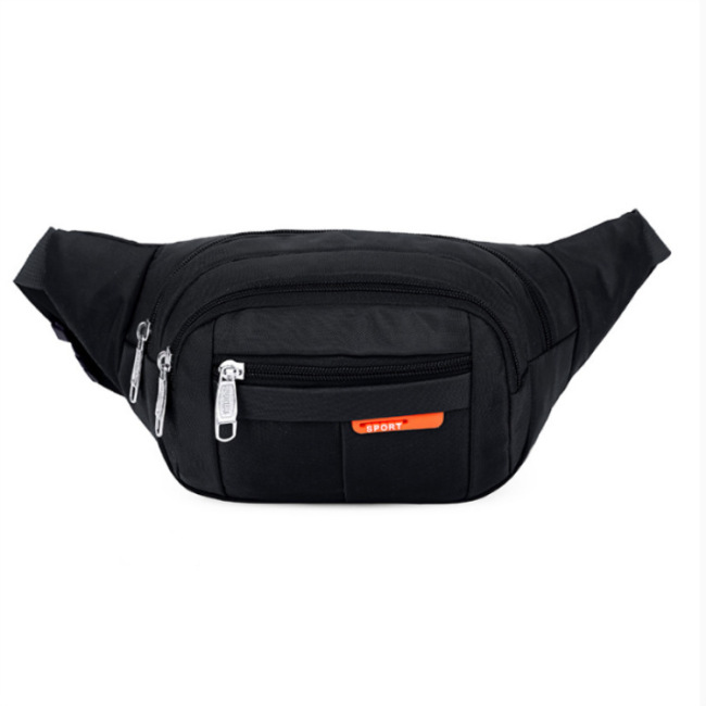 Factory direct sports waist bag wholesale custom logo men and women fashion mobile phone waist bag outdoor waterproof slant across chest bag