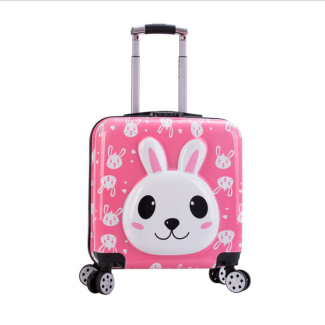 Cub suitcase cute universal wheel children's Trolley Case little bear cartoon trolley case 20 inch printed on the case