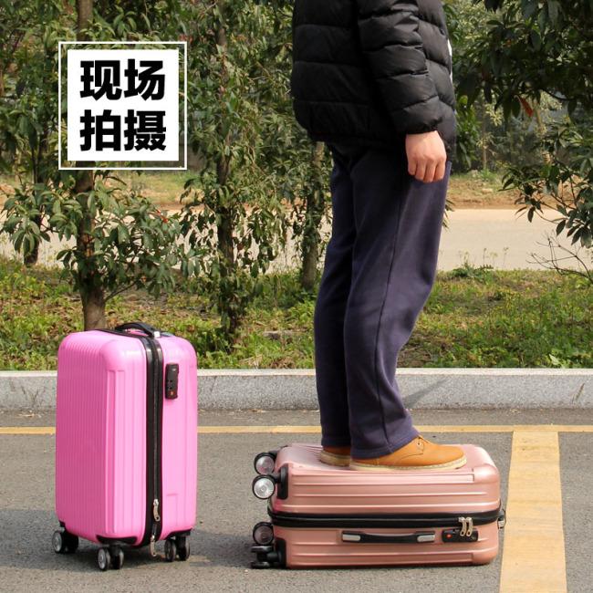 ABS Trolley Case custom universal wheel luggage travel bag aviation zipper bag waterproof bag