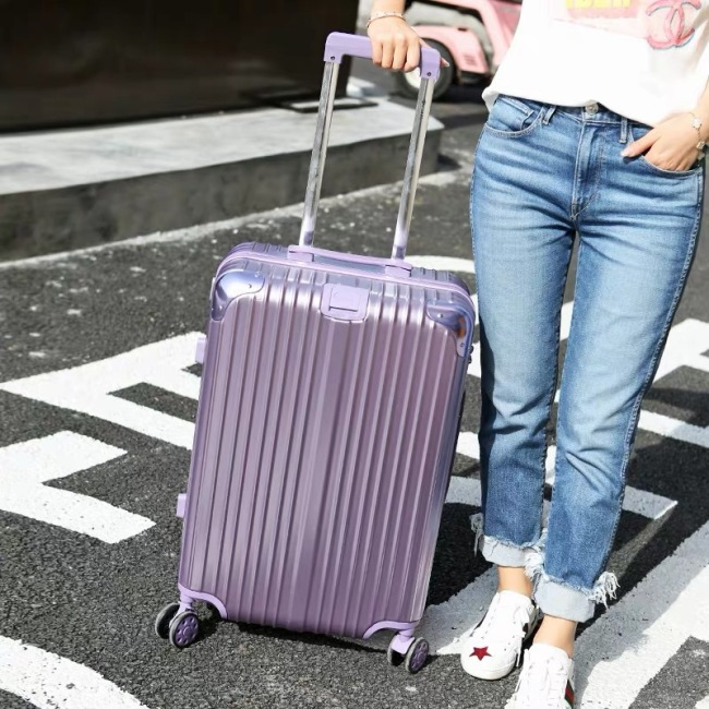 Luggage trolley case female boarding suitcase universal wheel male 20 inch password suitcase student 24 inch factory wholesale