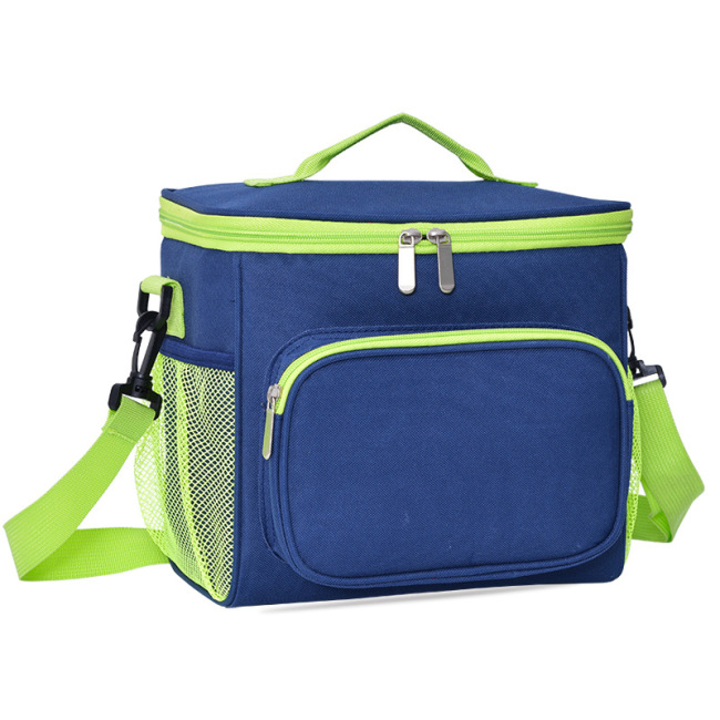 Factory direct sale Oxford cloth insulation bag, picnic lunch bag, portable lunch box bag, lunch bag, ice bag and heat preservation bag