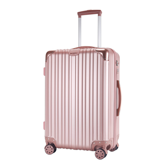 Luggage luggage universal wheel suitcase ABS + PC trolley case 20 inch boarding luggage manufacturer customized wholesale