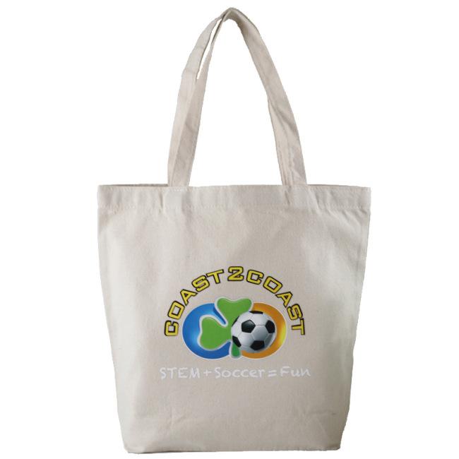 Creative advertisement canvas bag fashion gift shopping bag student cotton bag one shoulder handbag custom logo