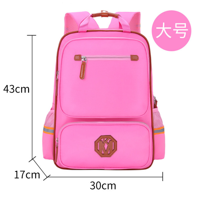 Direct selling kindergarten children's schoolbag training and tutoring class primary school students' schoolbag custom printed logo