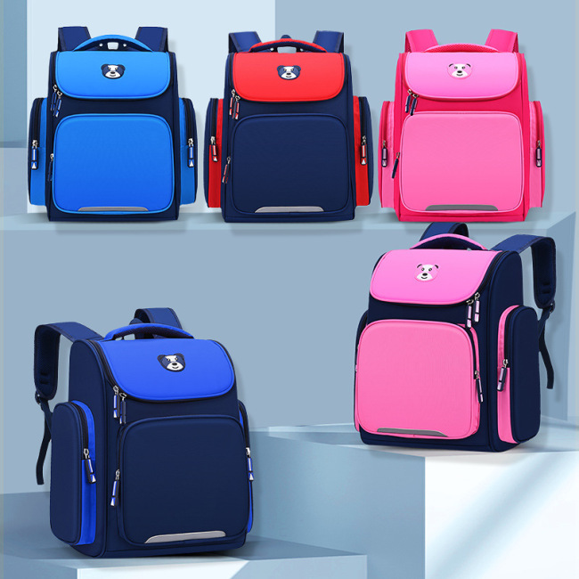 Children's schoolbag new space bag large capacity schoolbag custom printed logo grade 1-3-6