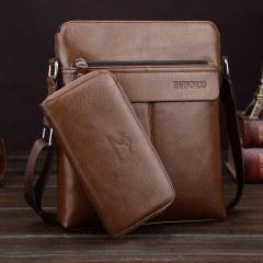 Single shoulder bag men's business messenger bag men's fashion high-end single shoulder bag