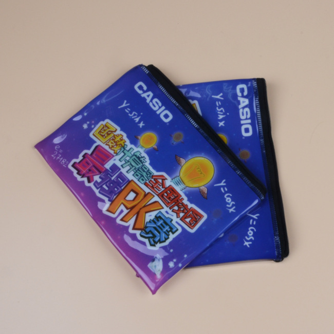 Wholesale PVC zipper bags EVA underwear bags transparent cosmetics packaging bags plastic storage pencil bags