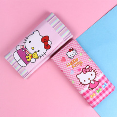 Cartoon kitty cat middle school students women's Long Wallet boys and girls children's change bag customized