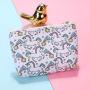Cute creative zero wallet customized cartoon Unicorn children's bag earphone key coin bag women's wallet