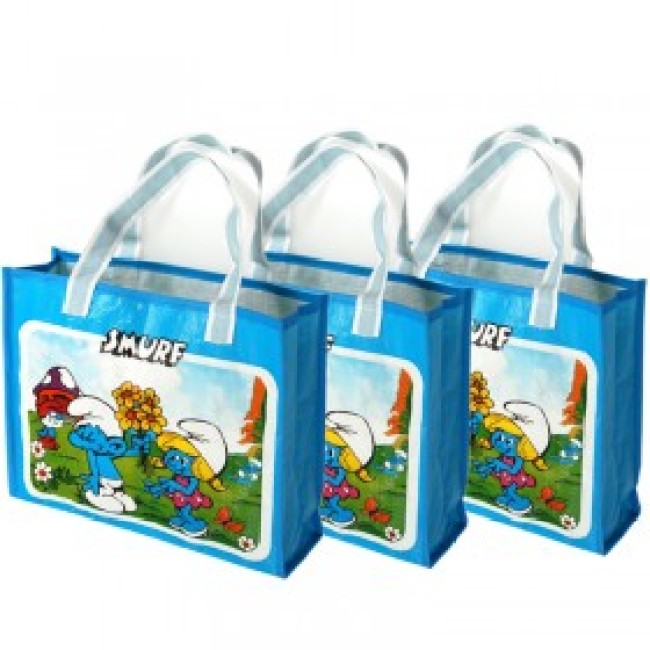 Colorful Shopping Bag With Coating