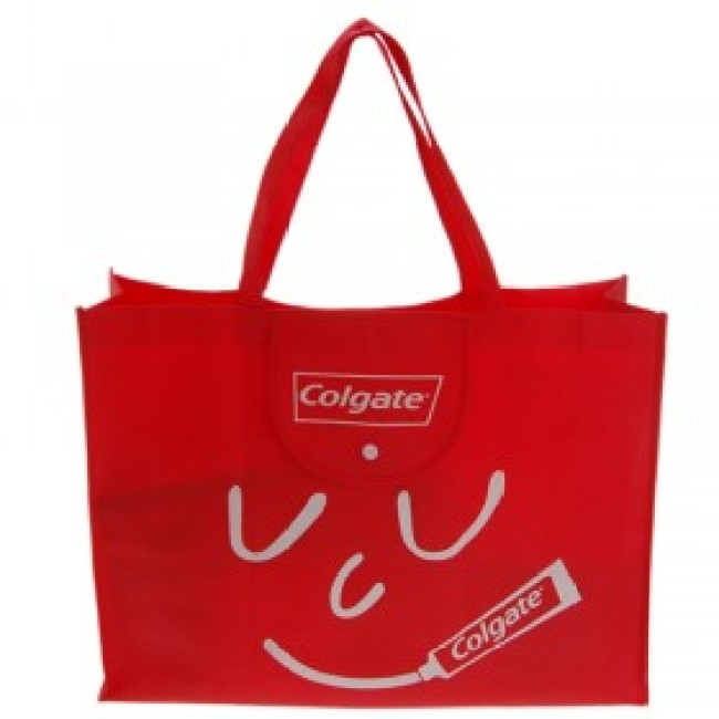 Colgate logo Folding Shopping Bag