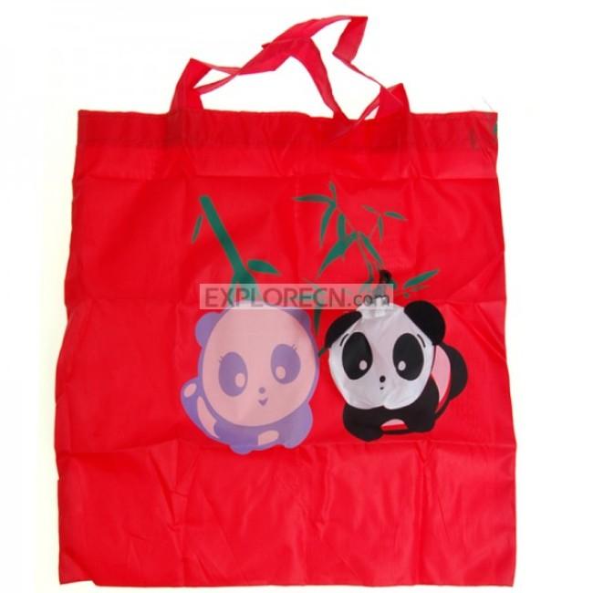 Panda shape shopping bag