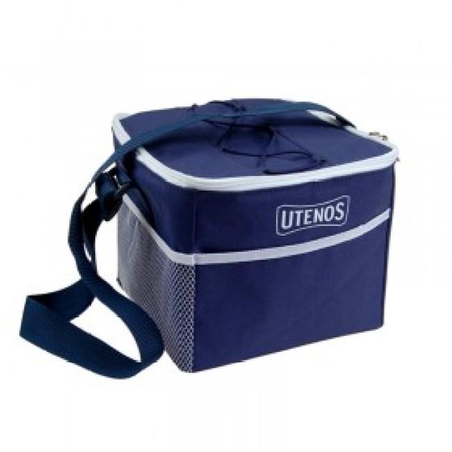 Cooler bag with elastic webbing