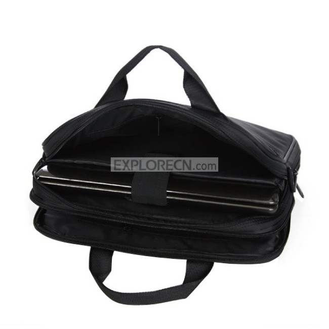Black unisex Laptop bag