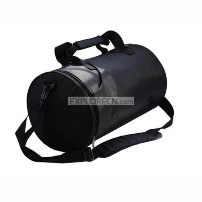 Cylindrical sport bag