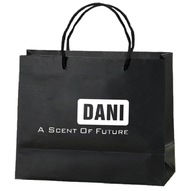 Personalized Matte Shopping Paper Bags