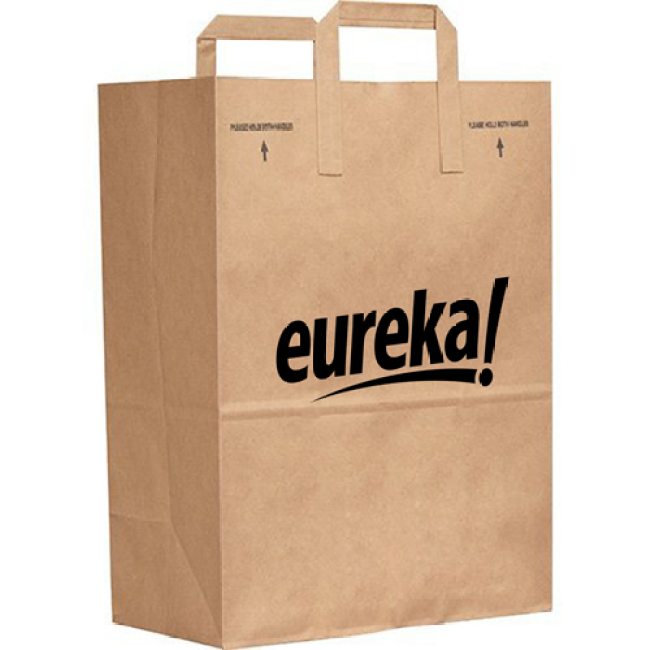 Kraft Paper Duro Handle Bag