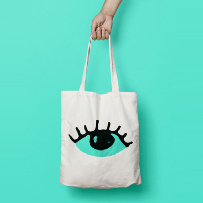 New design cheap canvas shopping bag