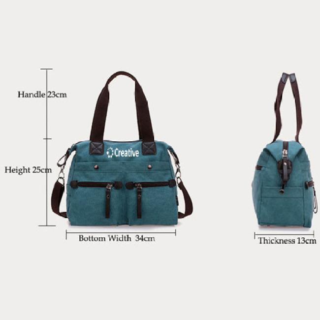 Canvas Handbags Messenger Bags