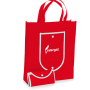 Rolling Non-Woven Foldable Tote Bag
