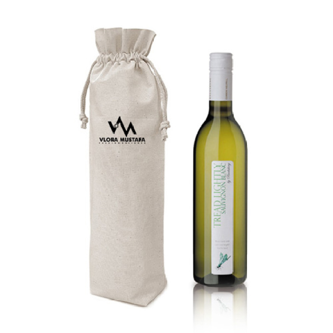 Cotton Alcohol Bottle Bag