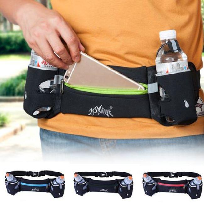 Walking Jogging Running Water Bottle Hydration Bag
