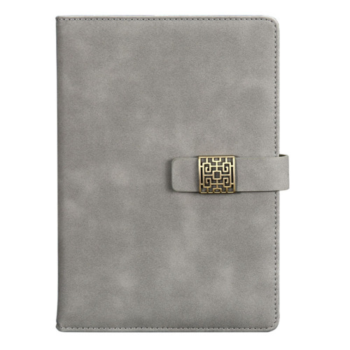 2019 Fashion Retro Hollow Magnetic Business Notebook Customizable