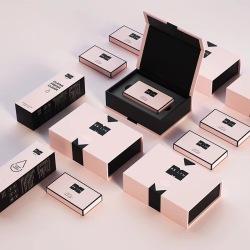 2019 Custom Printing kraft Paper folding makeup cosmetic box packaging,cosmetic kraft paper box best products , gift paper box