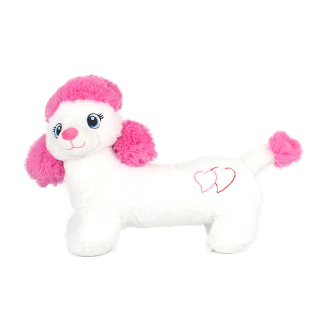 Soft Plush Stuffed  Poodle Dog toy