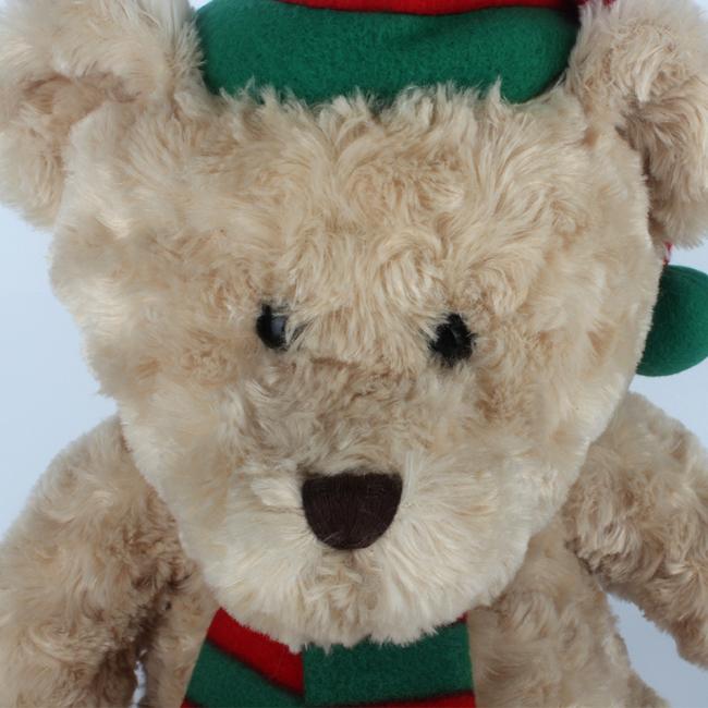 Soft Stuffed Brwown Christmas Gift Teddy Bear for Girlfriend