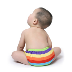 Swim Diapers for 0-3 Years Large Size Reuseable Washable & Adjustable for Swimming Lesson & Baby Shower Gifts