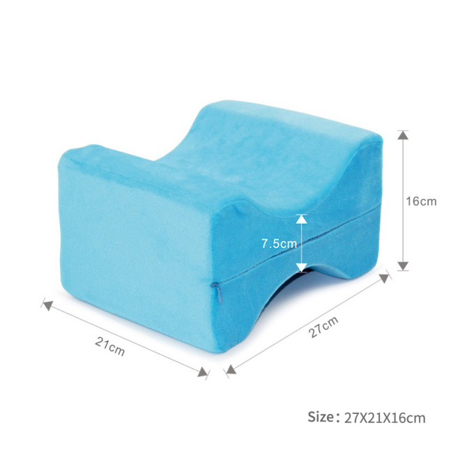 Low price New Design Ergonomic Memory Foam Leg Knee Pillow