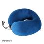 Memory Foam U Shaped Travel Pillow Neck Support Head Rest Cushion