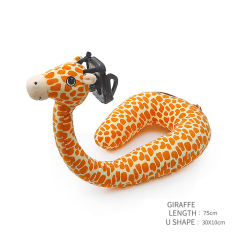 Plush Soft U Shape Neck Pillow Specially Design For Easy TV Film Watch Releasing Your Hands