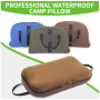 Specially Design Outdoor Travel Camp Wedge Square Pillow For Camping Sleep