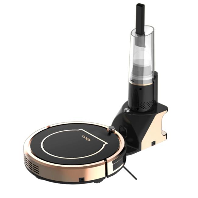 Pametni robot Haier TAB 2-v-1 QT35BSC Ročni sesalnik Mopping Black