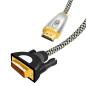 Nylon Braided HDMI to DVI Cable Audio Video Cable DVI HDMI male to male cable For PC Monitor HDTV Projector DVI24+1 Male