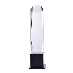 Top Grade K9 Crystal Glass Trophy 3D Laser Engraved Handmade Craft Crystal Trophy Crystal Award