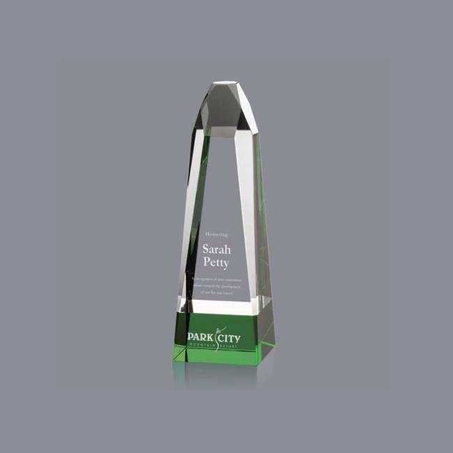 High Quality Wholesale New Obelisk Optical Crystal Trophy Awards Blank For Laser Engraving