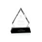 New Clear Custom Business Wedding Gift  Diamond-edge Crystal Award Trophy