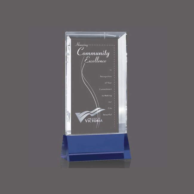 Customize Cheap Color Printing Glass Cube Album Crystal Decoration Photo Frame For Graduation