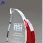 Factory Personalized Custom Red Crystal Flame Award Trophies For Sale