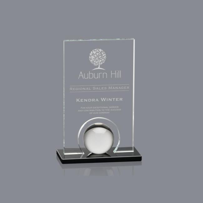 Starfire Icarus Award  crystal trophy custom wholesale trophy